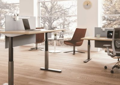 Haworth Planes Height Adjustable Table